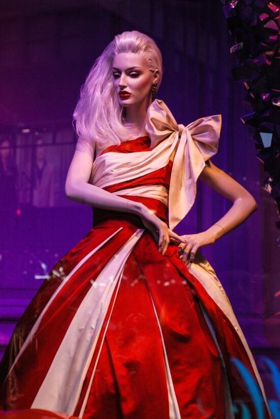 fashion, dress, supermarket, doll, cloth, glamour