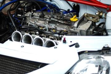 Auto, veicolo, motore, potenza, metallo, acciaio, chome, ferro