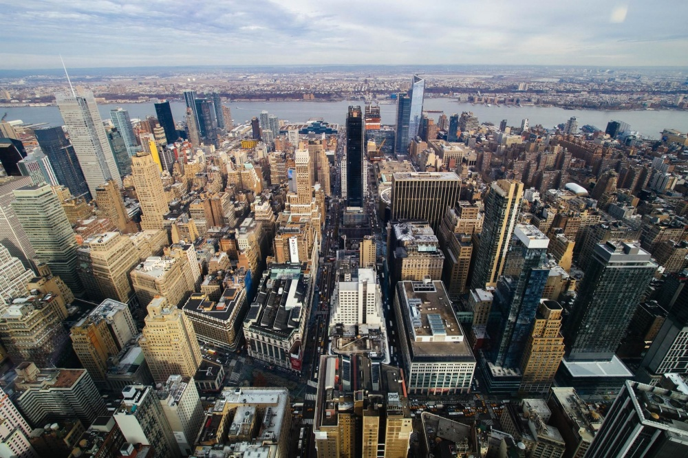 city, cityscape, architecture, urban, downtown, exterior, street, aerial