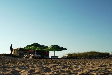 bầu trời, silhouette, bãi biển, cảnh, cát, người, thiên nhiên, mùa hè, ánh sáng ban ngày