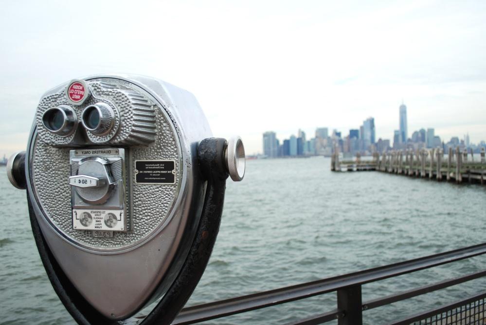 vode, dalekozor, grad, moderne, arhitektura, nebo, tehnologija, Panorama grada, urbane