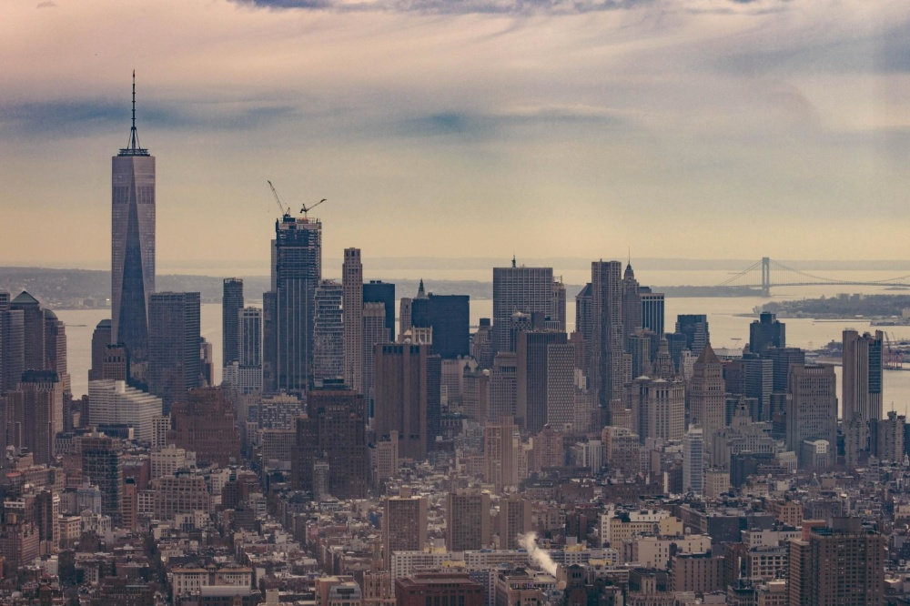 city, downtown, cityscape, architecture, office, urban