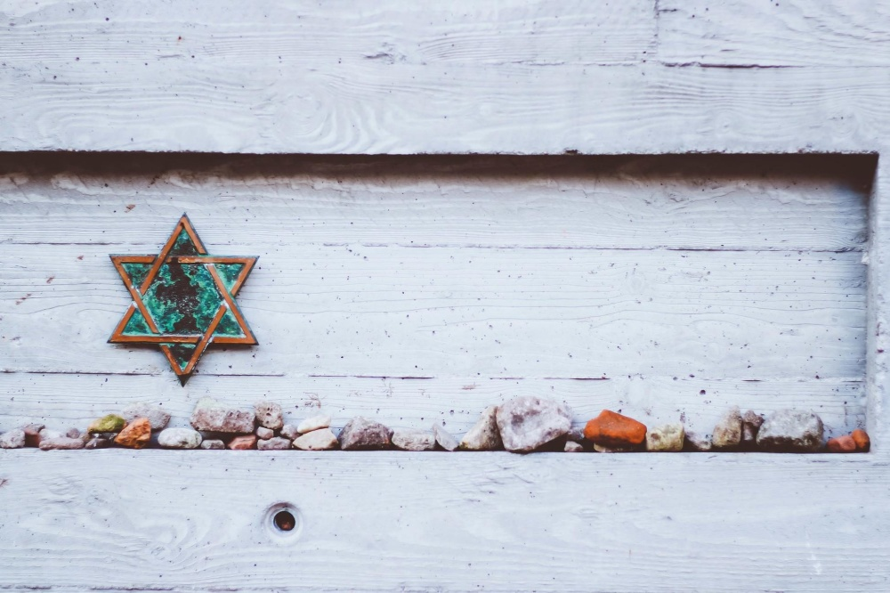 star, stone, decoration, snow, old, wood, wall