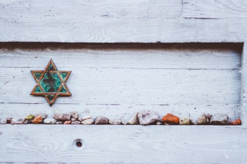 sao, đá, trang trí, tuyết, cũ, tường gỗ,
