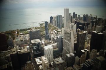 大都市、都市、都市の景観、アーキテクチャ、ダウンタウン、都市