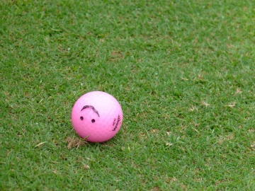 lawn, grass, ball, golf, game, equipment