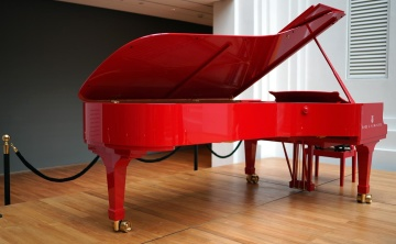 piano, music, instrument, wood, sound, classic, furniture, indoors, room