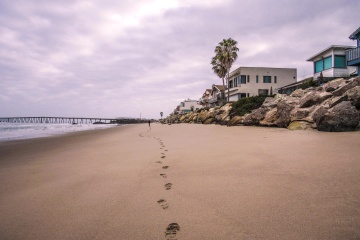 beach, water, seashore, ocean, sea, landscape, sand