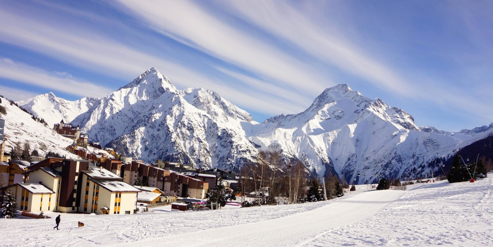 snow, mountain, winter, cold, snowy, glacier, scandinavia, mountain peak