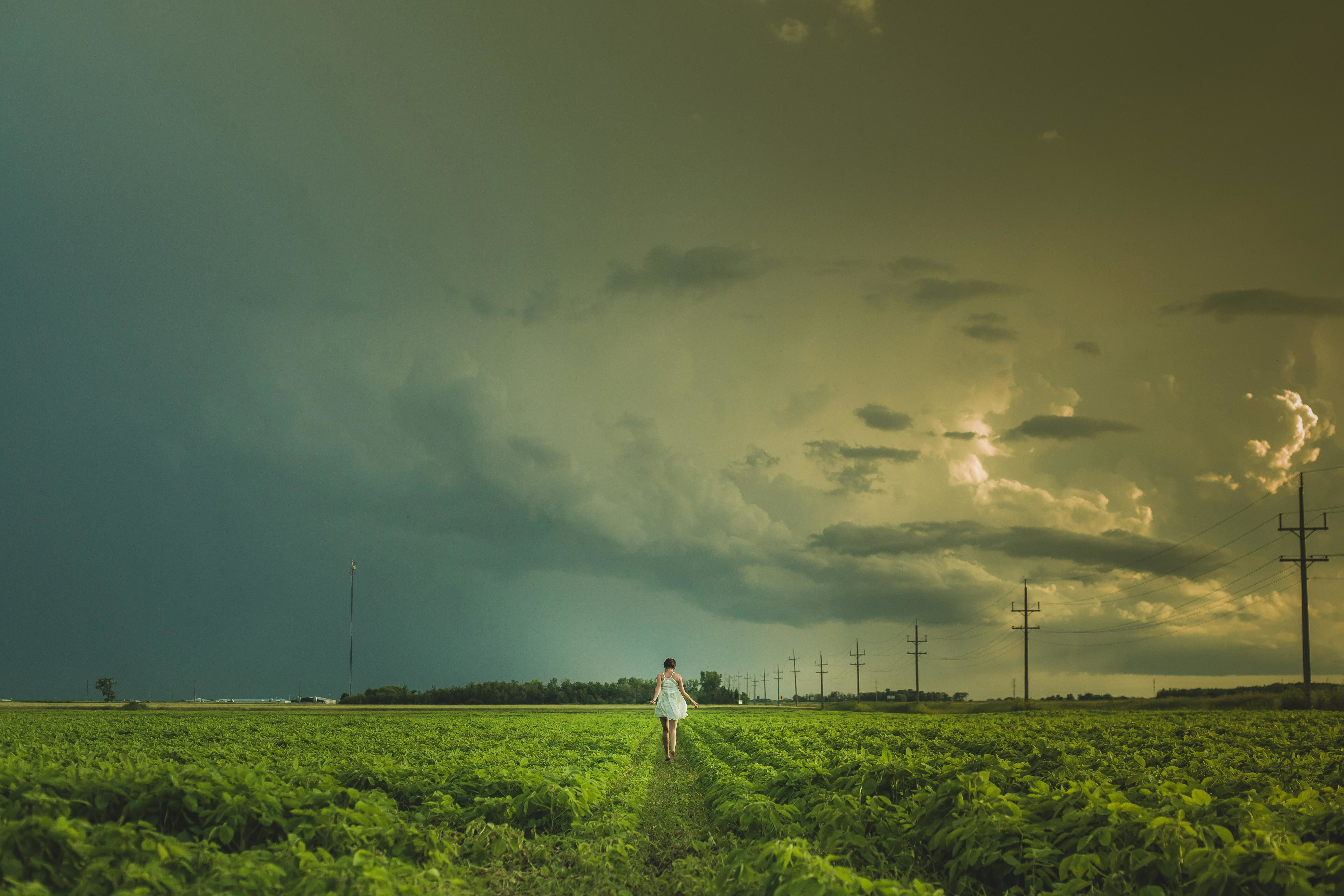 Free Picture Landscape Agriculture Farm Field Sky