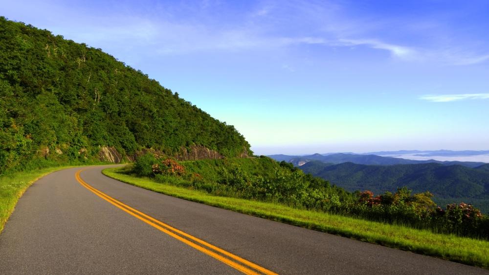 Straße, Landschaft, Natur, Asphalt, fahren, Autobahn
