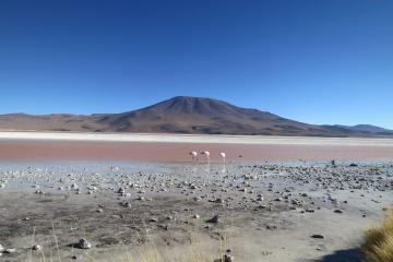 landscape, desert, sand, water, sand dune, dry, blue sky