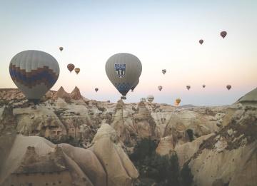 balón, šport, vrch, neba, rekreácia, zábava, horúci vzduch