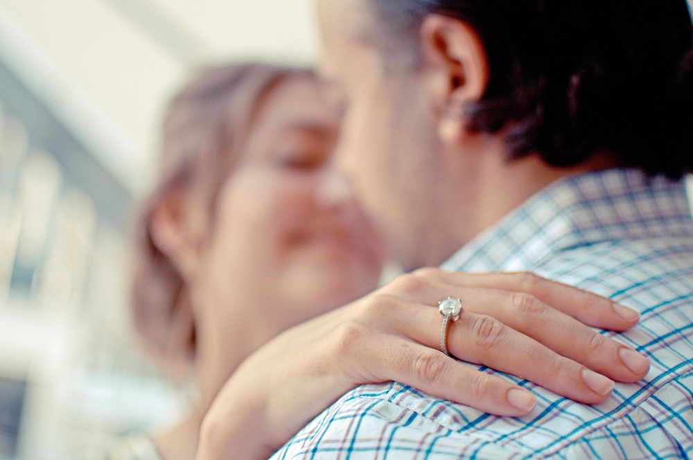 people, woman, ring, man, love, romance, happiness, engagement