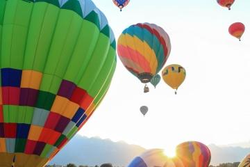 Ballon, hélium, aérien, air, ciel, vol, sport, aventure