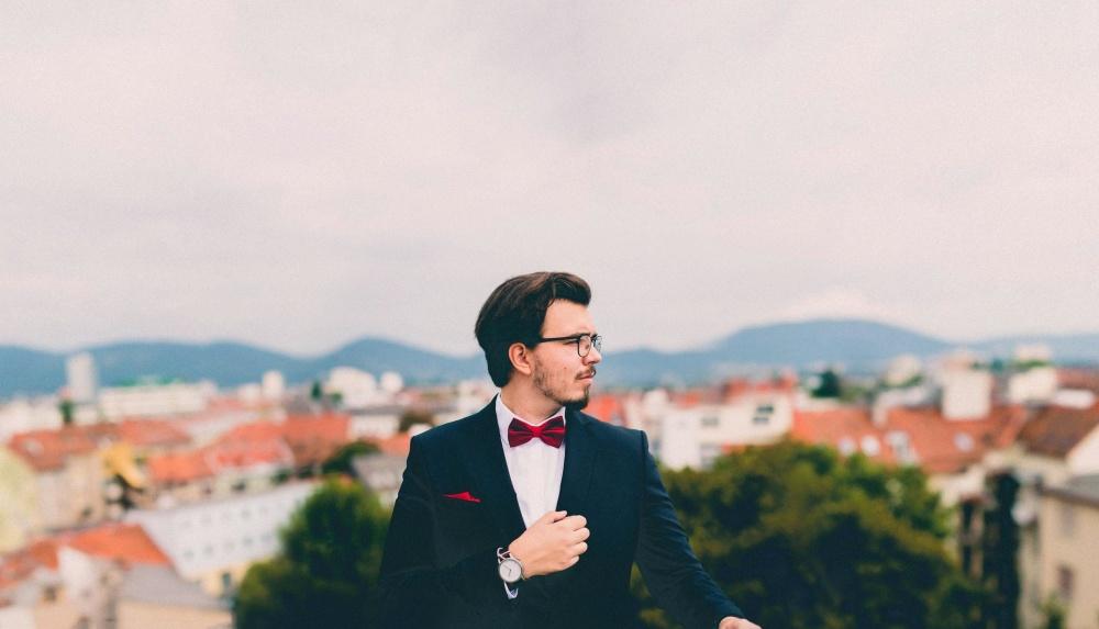 attractive, handsome, businessman, man, suit, man, city, sky, portrait, groom, fashion, photo model