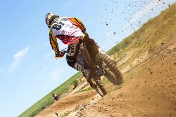 モトクロス、バイク、地面、汚れ、スポーツ、競技、レース