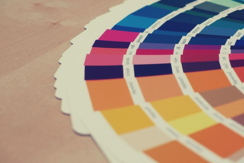 papir, design, farger, fargerike, mønster