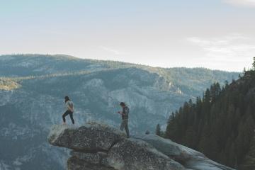 vuoristokiipeily, mountain valley maisema, ihmiset, vapaa-aika