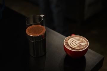 café, bebida, copo, café, bebidas, capuccino, escuro