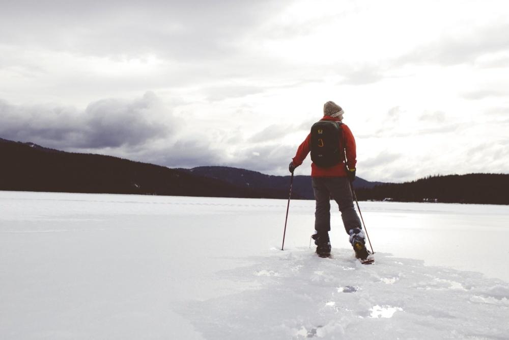 sníh, zima, LED, studená, lyžař, studené, sport, rekreace