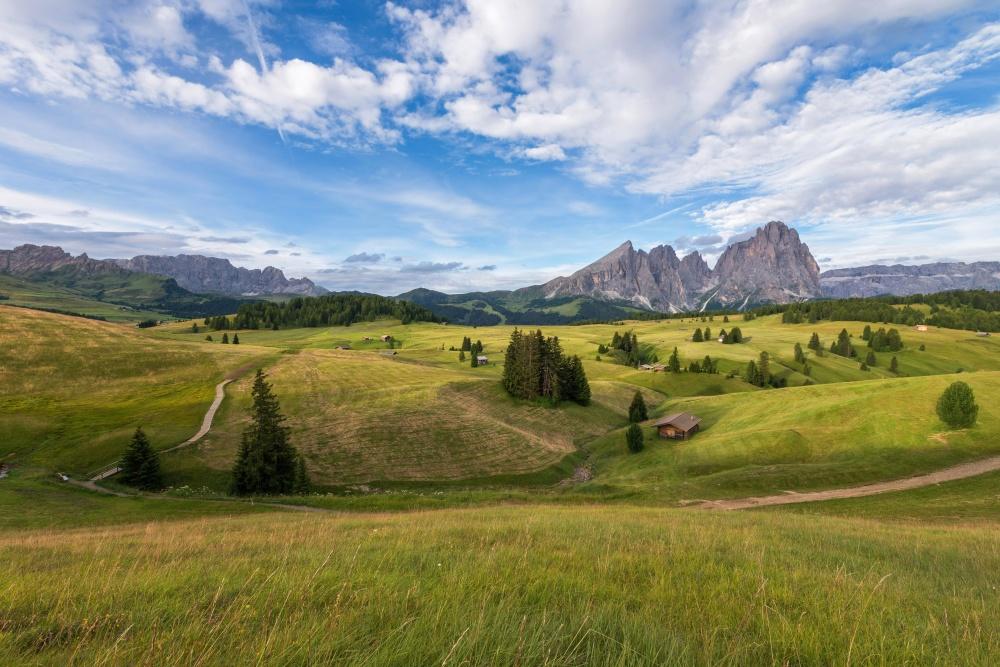 landskab, hill, græs, natur, jord, græsarealer, highland, eng, græsplæne