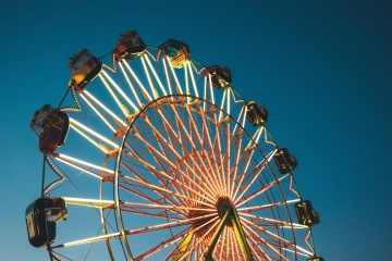 carnival, entertainment, festival, circus, wheel