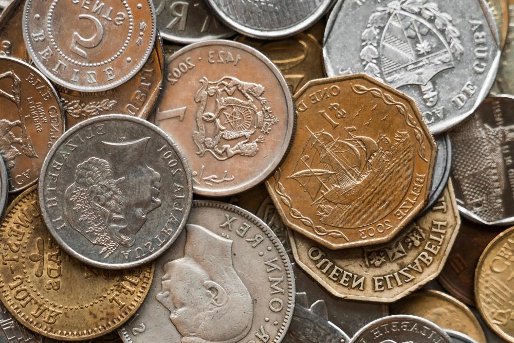 通貨、お金、現金、銀行、セント、投資、宝