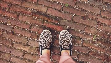Trampki, stóp, obuwie, urban, buty, moda