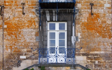 front door, exterior, urban, wall, house, old, architecture
