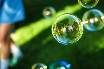 bubble, soap, rain, nature, ball, sphere