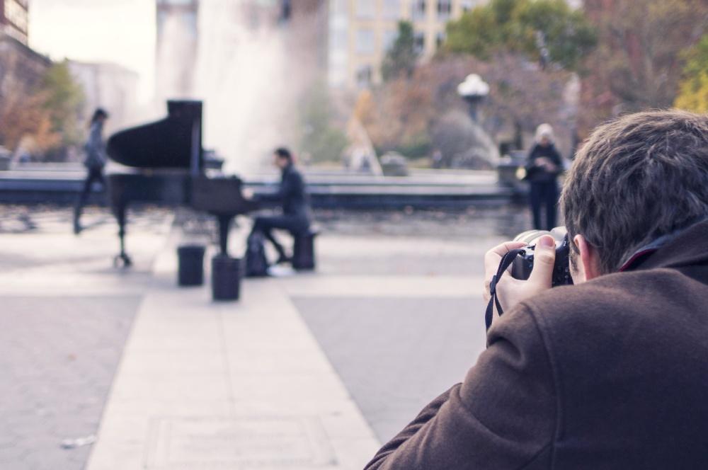 ihmiset, valokuvaaja, art, street, asfaltti, kaupunki-, valokuva, kamera, muotokuva, mies