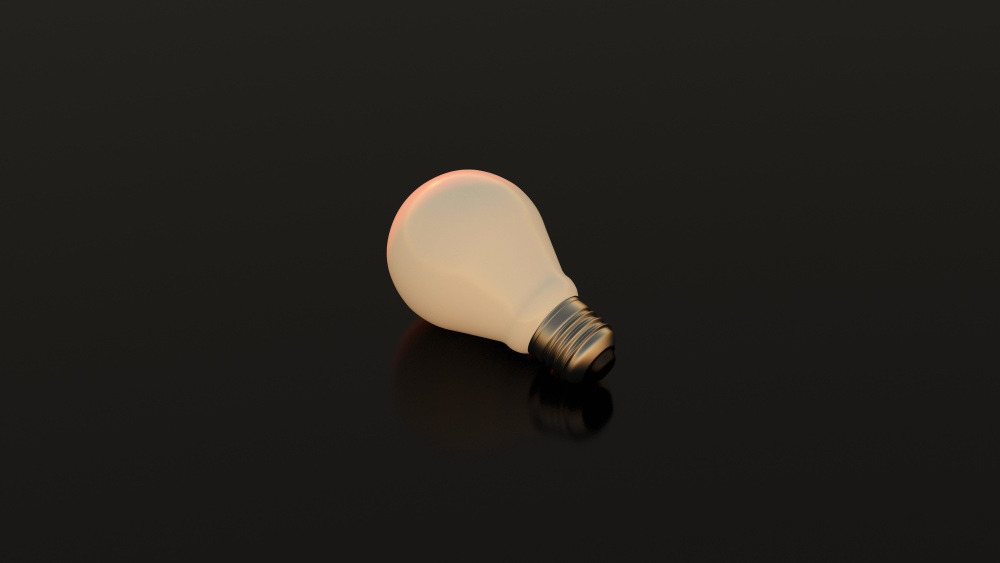 dark, invention, technology, electricity, light bulb