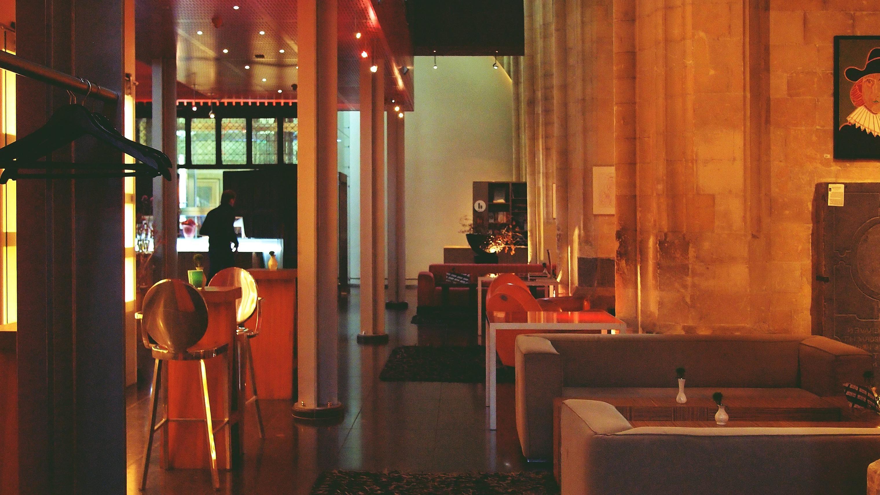 restaurant interior luxury decor modern people room indoors