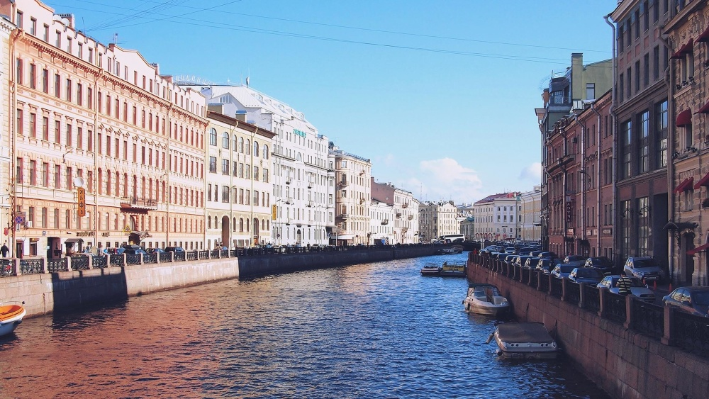 street, urban, downtown, canal, water, city, architecture