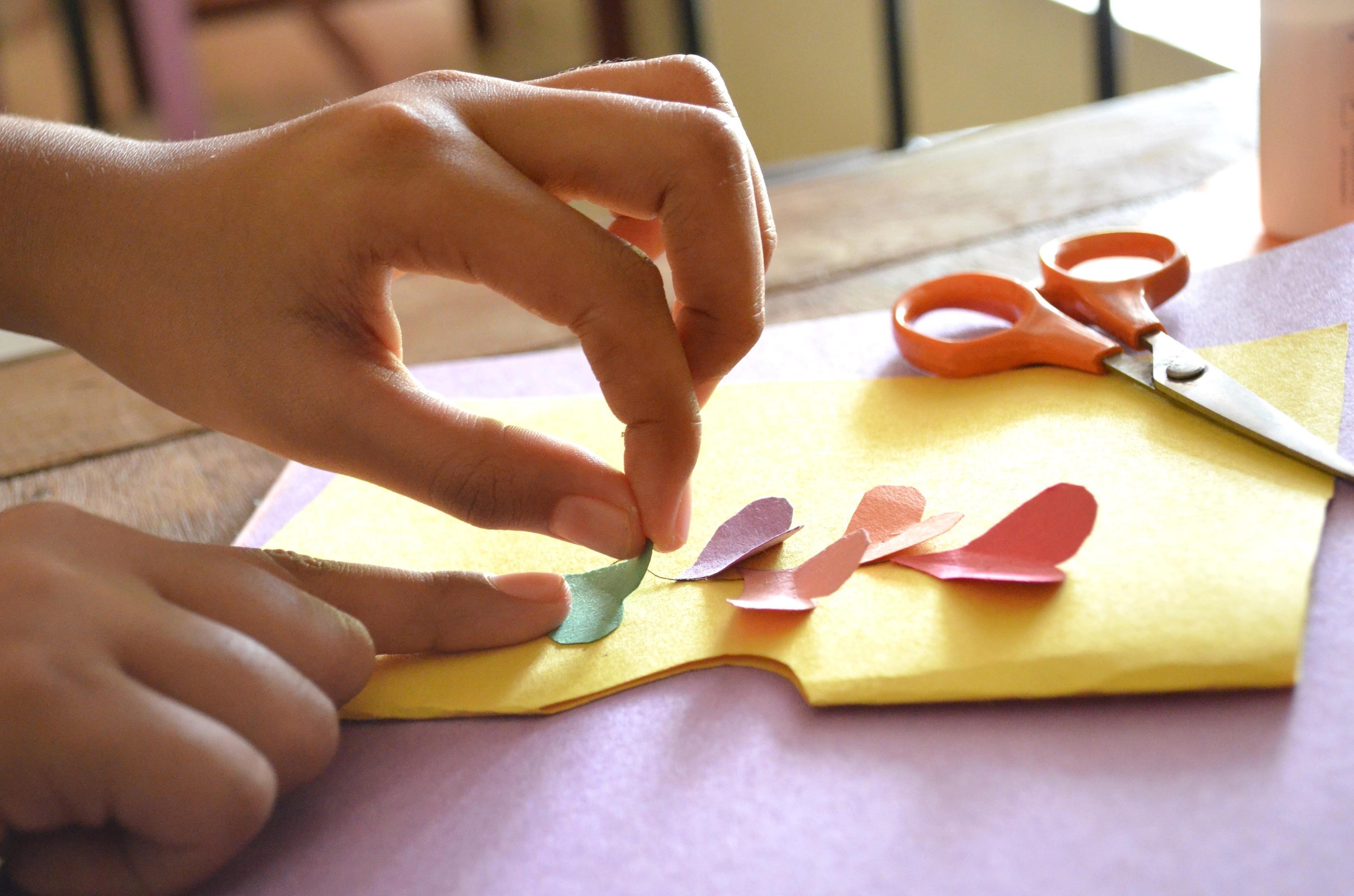 Kostenlose Bild: Hand, finger, herz, kunst, dekoration, schere