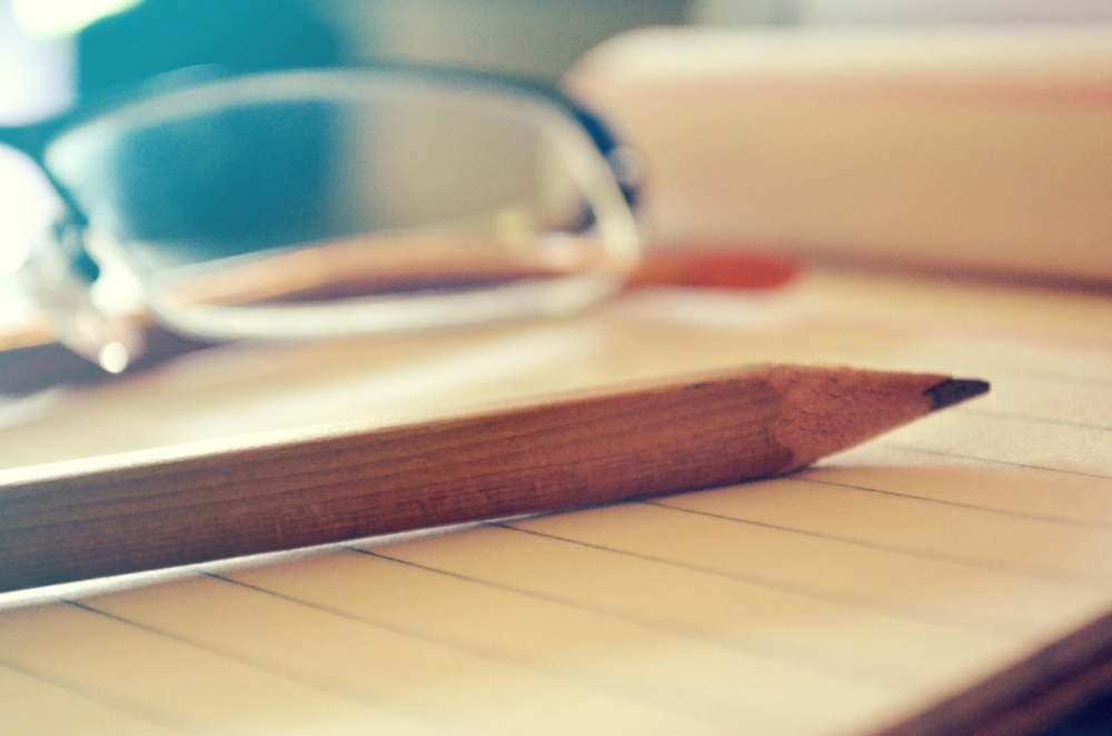 wood, pencil, paper, table, desk, education, wooden