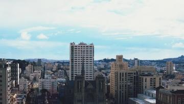 city, architecture, cityscape, downtown, metropolis, tower, building, sky