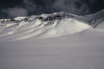 snow, winter, landscape, mountain, ice, cold, glacier, mountain peak