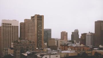 city, architecture, downtown, cityscape, urban, street, metropolis