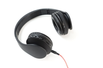 headset, electronics, equipment, stereo, plastic, sound, audio, technology, device, wire, music