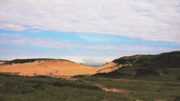 λόφου, ουρανός, γρασίδι, Λιβάδι, τοπίο, highland, βουνό
