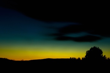 night, sunset, sky, dusk, dark, silhouette, landscape
