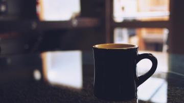 Céramique, noir, objet, café, boisson, tasse, expresso, tasse, boisson