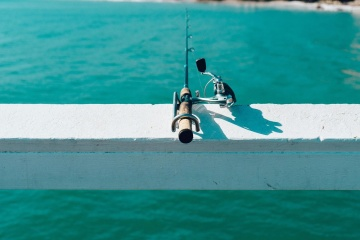 fishing, object, tool, water, sea, ocean, sport, seashore