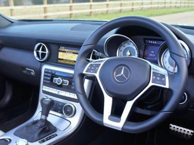 bil, dashboard, interiør, moderne, kjøretøy, speedometer