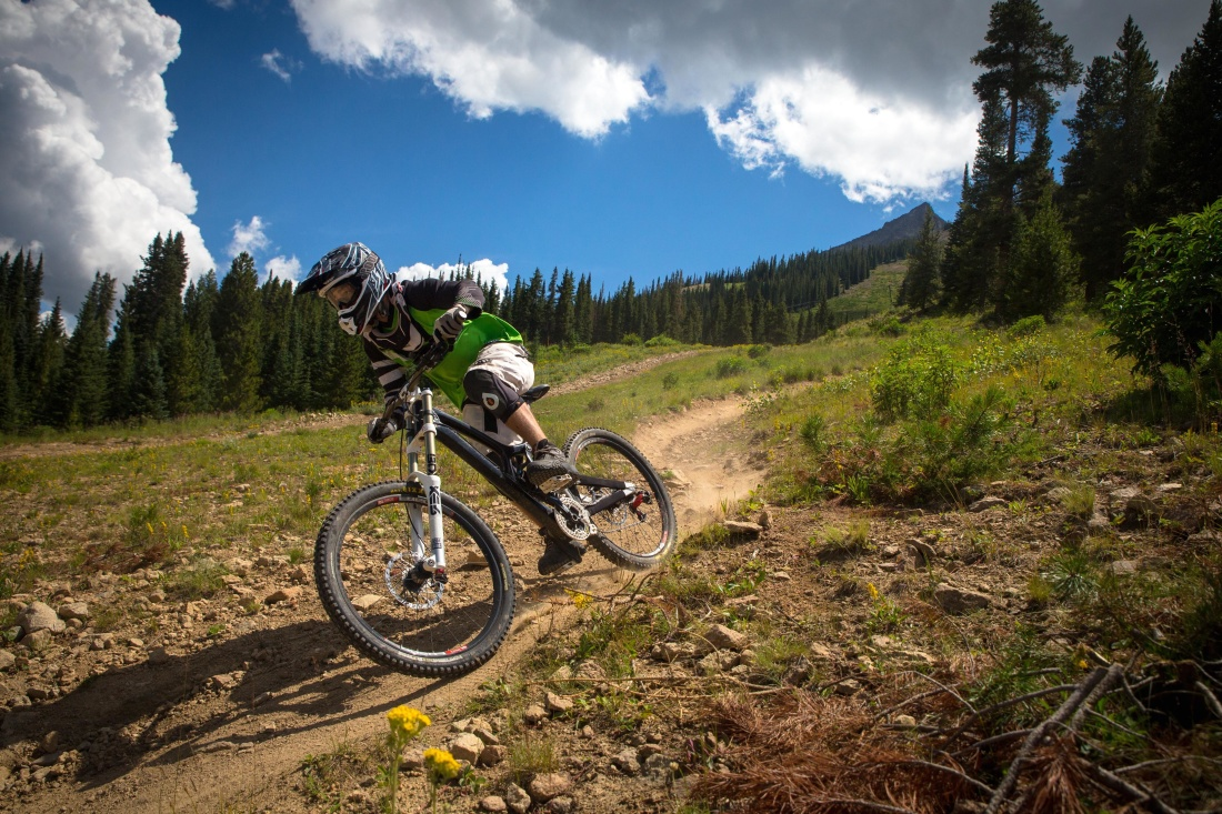 mountain bike, bicycle, sport, cyclist, mountain, landscape