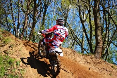 Trail, actie, avontuur, biker, motor, sport
