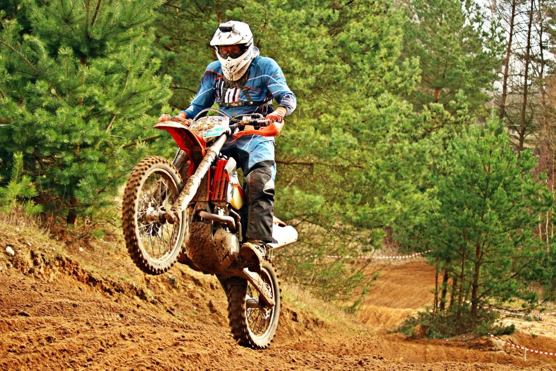 Спорт мотокросу trail, пригода, мотоцикл, автомобіль, природи