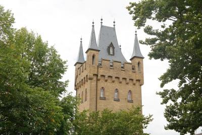 архитектура, замъка, готик, кула, екстериор, дворец